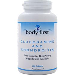 BODY FIRST Glucosamine and Chondroitin 120 tabs