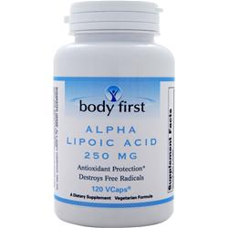 BODY FIRST Alpha Lipoic Acid (250mg) 120 vcaps