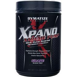 DYMATIZE NUTRITION Xpand Xtreme Pump Grape 1.76 lbs