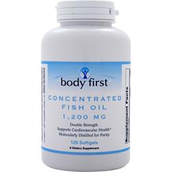 Body First Concentrated Fish Oil (1200mg) 120 sgels