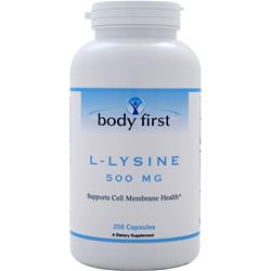BODY FIRST L-Lysine (500mg) 250 caps