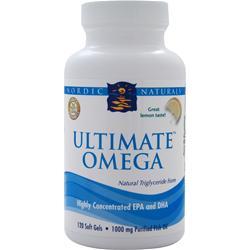 Nordic Naturals Ultimate Omega Lemon 120 sgels