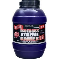 Ultimate Nutrition Iso Mass Xtreme Gainer Strawberry Milk Shake 10.11 lbs