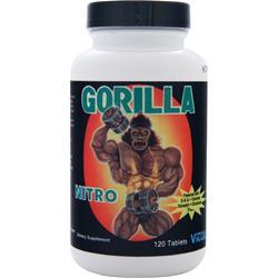 VITOL Gorilla Nitro 120 tabs