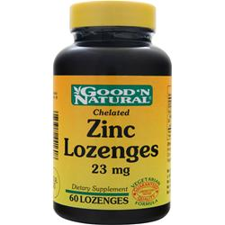 Good 'N Natural Zinc Lozenges (23mg) 60 lzngs