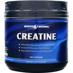 BodyStrong Creatine (1000mg) 480 caps