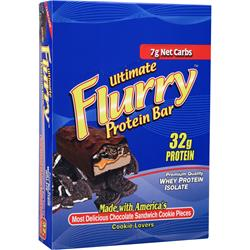 ANSI Ultimate Flurry Protein Bar Cookie Lovers - Oreo 12 bars