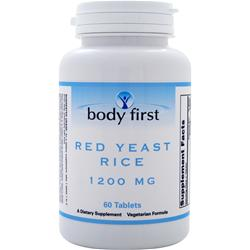 BODY FIRST Red Yeast Rice (1200mg) 60 tabs