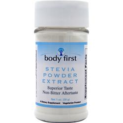 BODY FIRST Stevia Powder Extract 1 oz