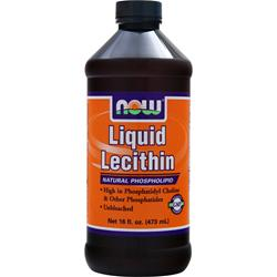 Now Liquid Lecithin 16 fl.oz