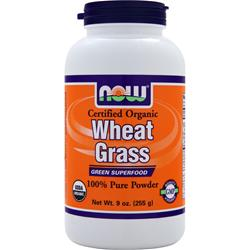 NOW Wheat Grass Powder 9 oz