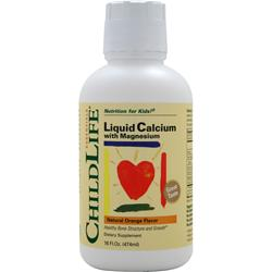 Childlife Liquid Calcium with Magnesium Orange 16 fl.oz
