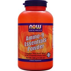 NOW Amino-9 Essentials Powder 330 grams