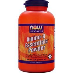 Now Amino-9 Essentials Powder 330 grams