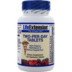 Life Extension Two-Per-Day Tablets 120 tabs