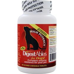 PETLABS360 DigestAbles for Dogs Beef & Cheese Flavor 120 tabs