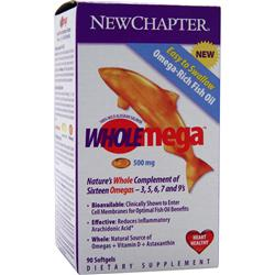 NEW CHAPTER WholeMega (500mg) 90 sgels