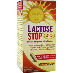 RENEW LIFE Lactose Stop 30 vcaps