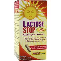 Renew Life Lactose Stop 30 vcaps