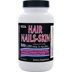 Vitol Hair Nails-Skin 120 tabs