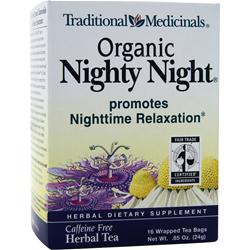 Traditional Medicinals Organic Herbal Tea Nighty Night 16 pckts