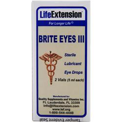 LIFE EXTENSION Brite Eyes III 2 vials