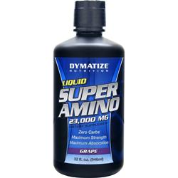 DYMATIZE NUTRITION Liquid Super Amino (23000mg) Grape 32 fl.oz