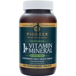 Pioneer 1+ Vitamin Mineral 120 tabs