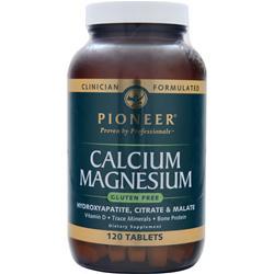 PIONEER Calcium Magnesium 120 tabs