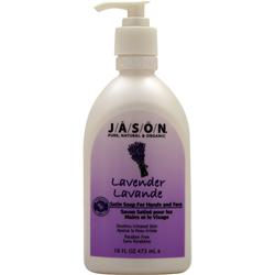 JASON Satin Soap for Hands and Face Lavender 16 fl.oz