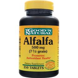 GOOD 'N NATURAL Alfalfa (500mg) 250 tabs