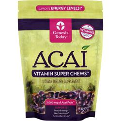 Genesis Today Acai - Vitamin Super Chews (2000mg) 30 chews