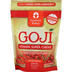 GENESIS TODAY Goji (100mg) - Vitamin Super Chews 30 chews