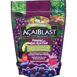 Garden Greens AcaiBlast (300mg) Chews 30 chews