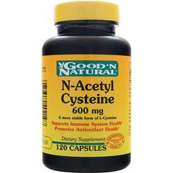 GOOD 'N NATURAL N-Acetyl Cysteine (600mg) 120 caps