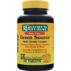 Good 'N Natural Green Source Multi Vitamin Complex - Iron Free 60 tabs