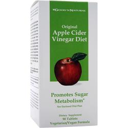 GOOD 'N NATURAL Original Apple Cider Vinegar Diet 90 tabs
