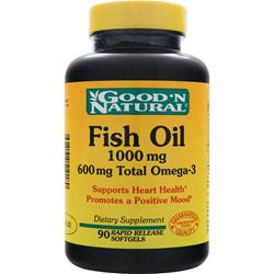 GOOD 'N NATURAL Fish Oil (1000mg) 90 sgels