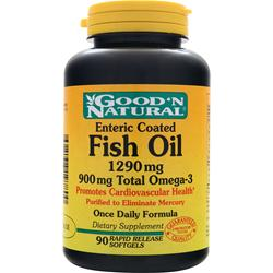 Good 'N Natural Fish Oil (1290mg) - Enteric Coated 90 sgels