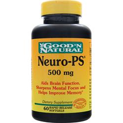 GOOD 'N NATURAL Neuro-PS (500mg) 60 sgels
