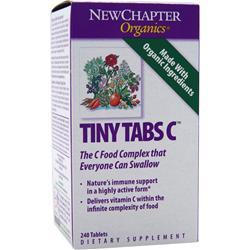 New Chapter Tiny Tabs C 240 tabs
