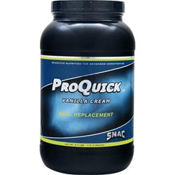 Snac ProQuick Meal Replacement Vanilla Creme 2.7 lbs