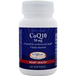 Enzymatic Therapy CoQ10 (50mg) 60 sgels