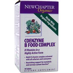 NEW CHAPTER Coenzyme B Food Complex 90 tabs