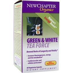 NEW CHAPTER Green & White Tea Force 60 vcaps