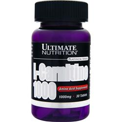ULTIMATE NUTRITION L-Carnitine 1000 30 tabs