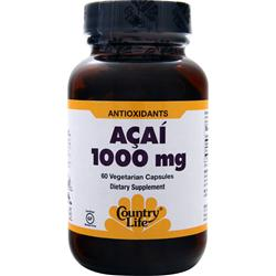 Country Life Acai (1000mg) 60 vcaps