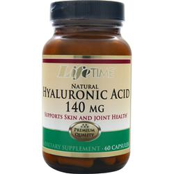 Lifetime Natural Hyaluronic Acid (140mg) 60 caps