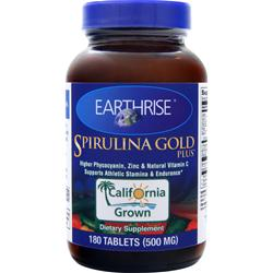 Earthrise Spirulina Gold Plus 180 tabs