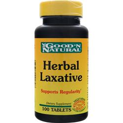 GOOD 'N NATURAL Herbal Laxative 100 tabs